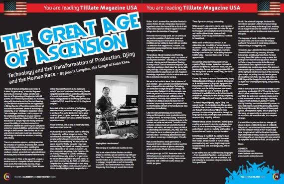 Tilllate Magazine www.dancemusicpr.com