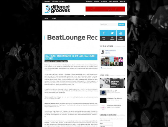 Different Grooves features Beatlounge