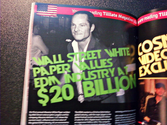 JOHN LANGDON values the EDM INDUSTRY at $20 Billion
